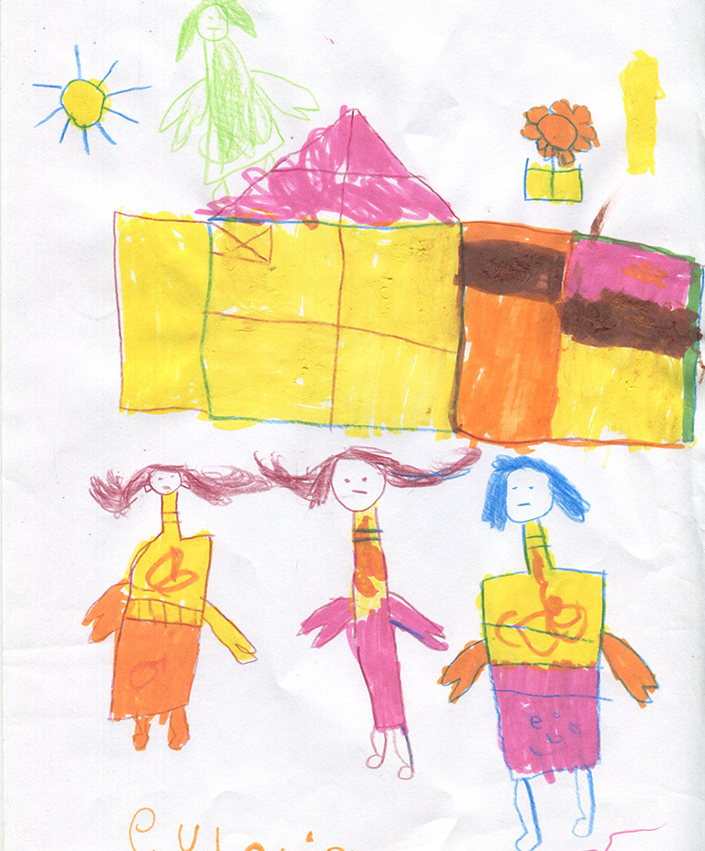 Kids drawing for inspiration