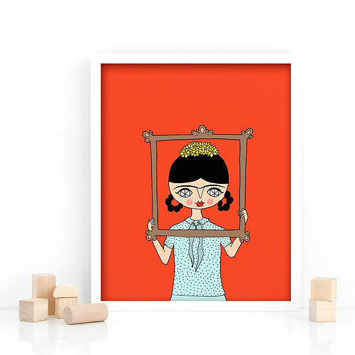 PRINT / Frida in Frame