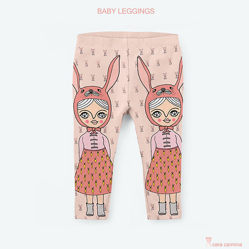 BUNNY LEGGINGS / BABY - KIDS