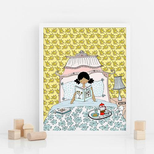 BREAKFAST IN BED / Print