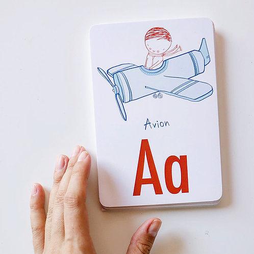 ALPHABET CARDS SET