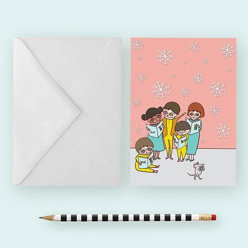 Xmas Carols / Greeting Card