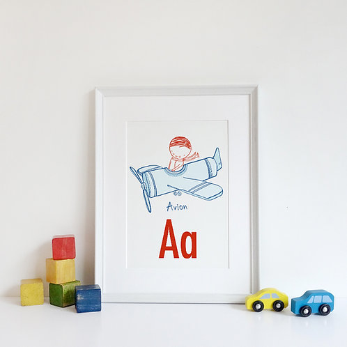 ABC PRINTS / CHOOSE YOUR LETTER