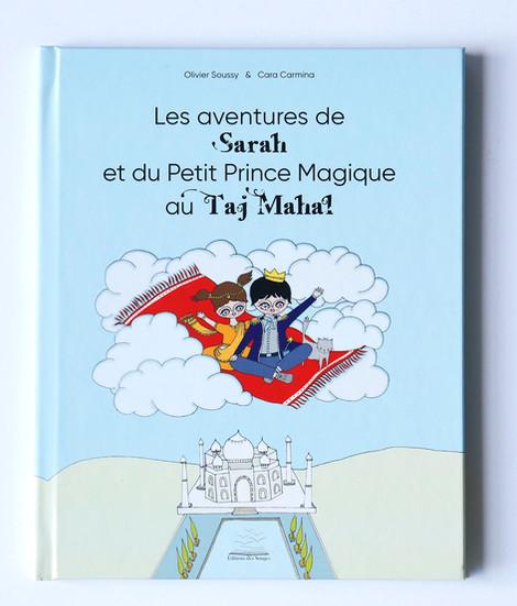 Les aventures de Sarah et du Petit Prince Magique au Taj Mahal