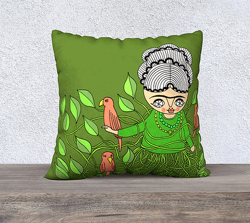 PILLOW CASE / Frida Viva la Vida