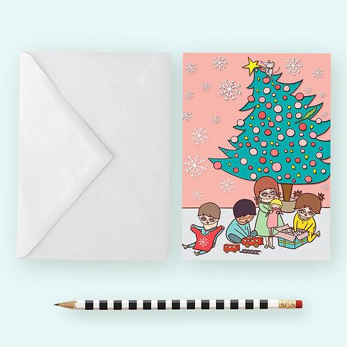 Sapin Noël / Greeting Card