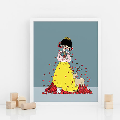 PRINT / Frida Broken Heart