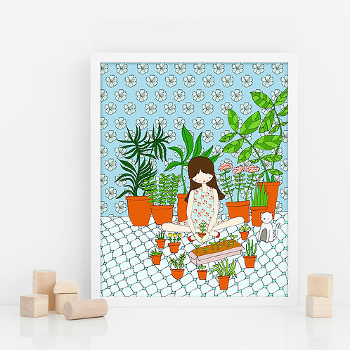 I LOVE PLANTS / Print