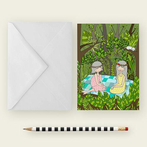 PICNIC / Greeting Card