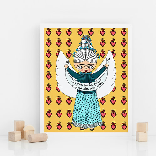 PRINT / Flying Frida