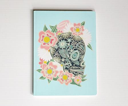 FLOWERY SKULL / Notebook