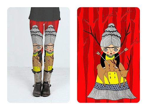 LEGGINGS / Oh deer Frida
