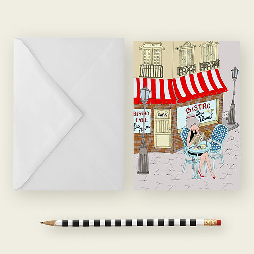 BISTRO / Greeting Card