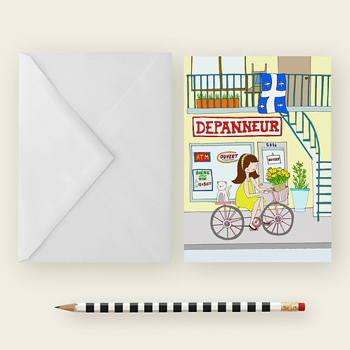 DEPANNEUR / Greeting Card