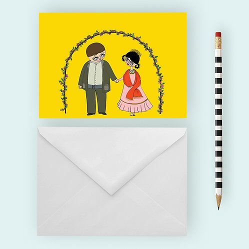 FRIDA AND DIEGO / Greeting Card