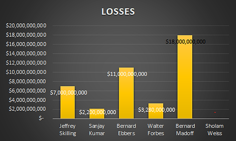 Sholam Weiss loss chart