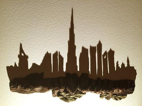 UAE Skyline     الإمارات العربية المتحدة