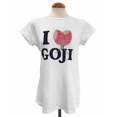 """Damen T-Shirt """"Goji"""" mit Strass"""