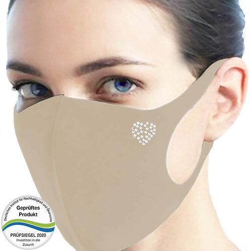 Cool-Comfort-Maske luxury CM1005-Herz