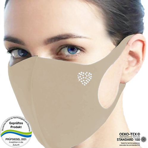 Cool-Comfort-Maske luxury CM1002-Herz