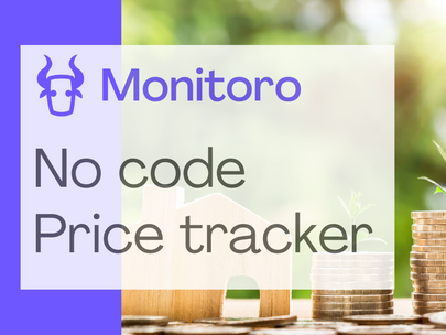 How to make a price tracker with Google Sheets and Slack in 2 min