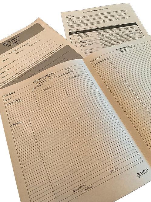 ICS-214 Form Booklets (10pk)