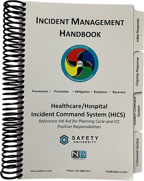 Healthcare/Hospital Incident Management Handbook (IMH)