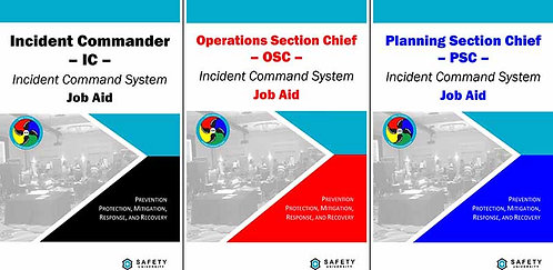 Incident Command System (ICS) Job Aids