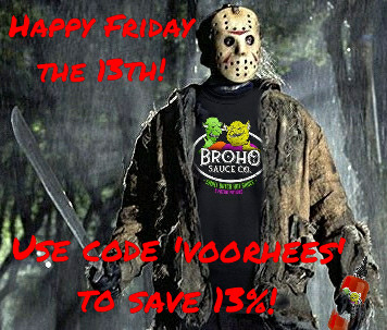 Friday The 13th Sale!
