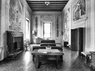 Inizia il restauro delle vetrate storiche di Villa Emo