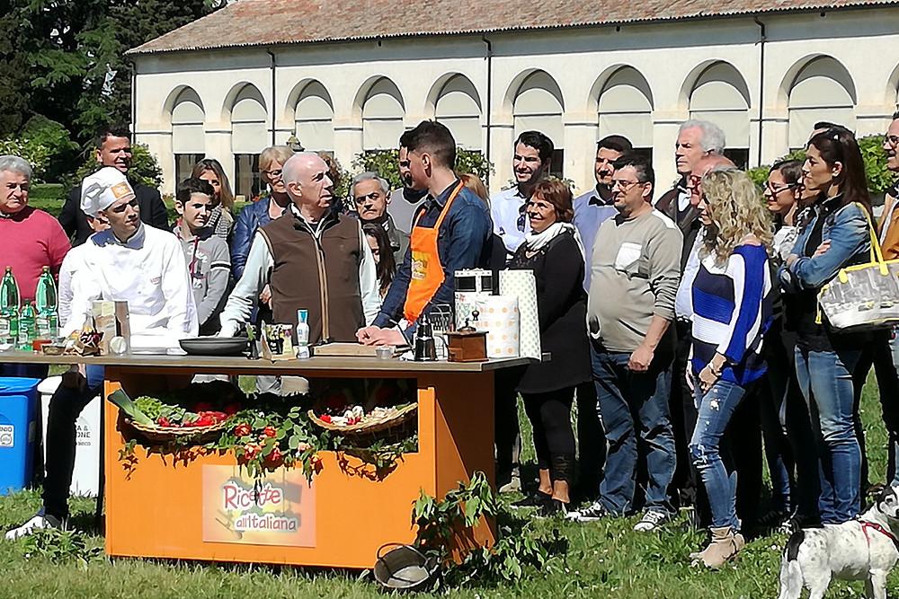 Davide Mengacci a Villa Emo