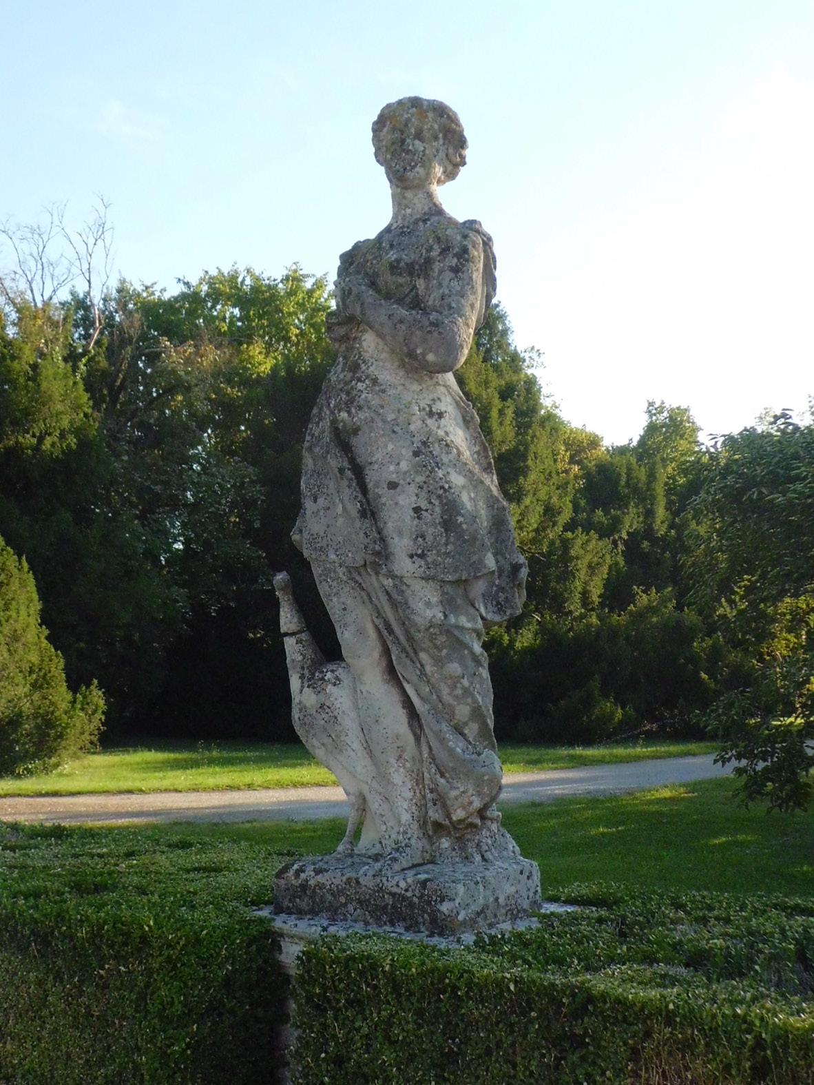 The Sculptures In Villa Emo S Garden