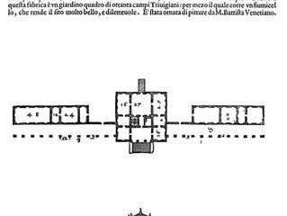L'originario giardino palladiano tra il XVI e il XVII secolo