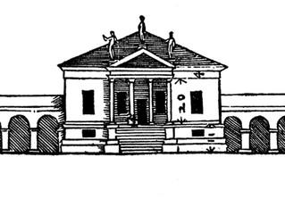 The façade of Villa Emo