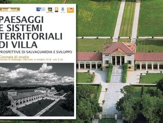 Paesaggi e sistemi territoriali di villa - prospettive di salvaguardia e sviluppo