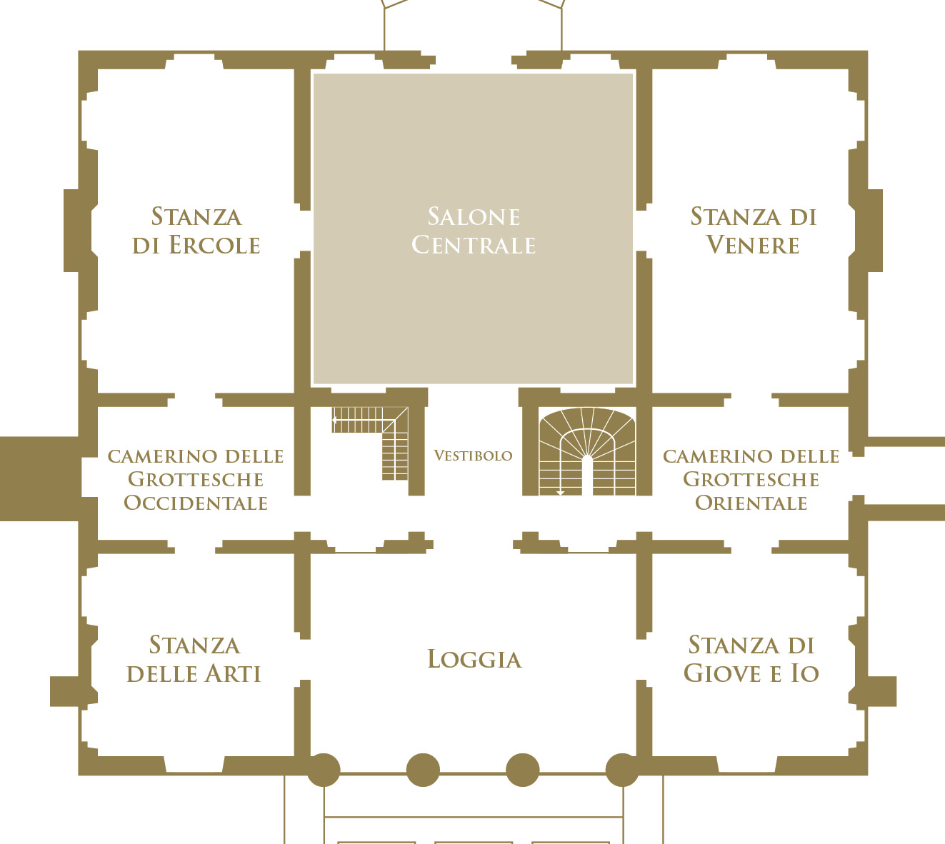 Il Salone Centrale