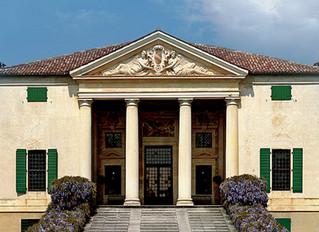La facciata di Villa Emo