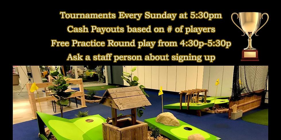 Cornhole Golf Tournaments