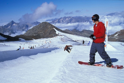 ski d'été Les 2 Alpes