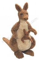 kangourou peluche