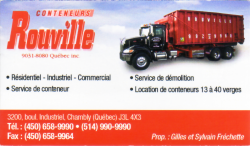 Conteneurs Rouville,Chambly