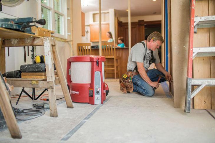 Service de nettoyage après constructon et démolition