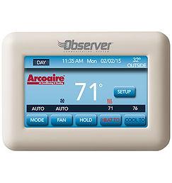 thermostat sans-fil arcoaire Longueuil Brossard Chambly Réfrigération Climatisation Chauffage Chambly
