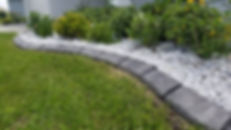 Monsieur Bordure décorative beton exterieur couleur Laval Terrebonne Montréal Repentigny