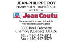 Pharmacie Jean-Philippe Roy