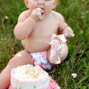 Cake Smash Photos Oneonta NY
