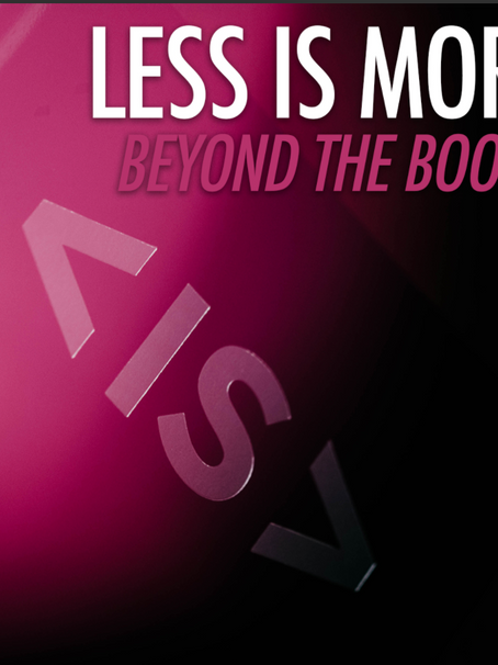 Less is More: Beyond the Book - Ben Earle