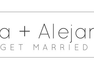 Anna + Alejandro Get Married