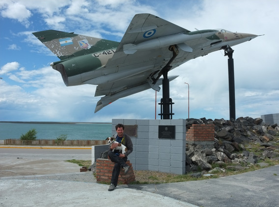 Památník v San Juliánu