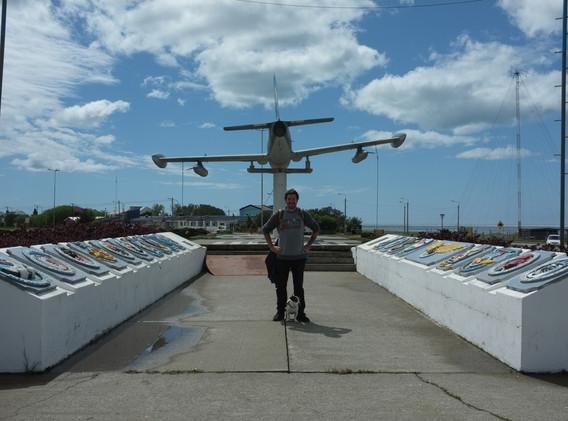 Památník v Riu Grande